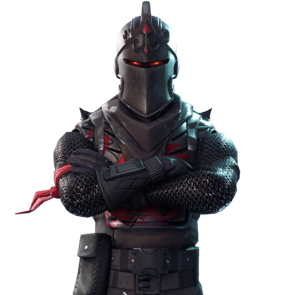Character transparent stickpng. Fortnite knight png picture black and white stock