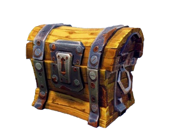 Fortnite chest png. Battle royale video game