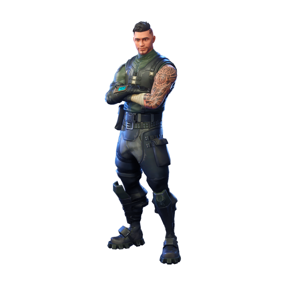 Fortnite clipart transparent. Squad leader png image