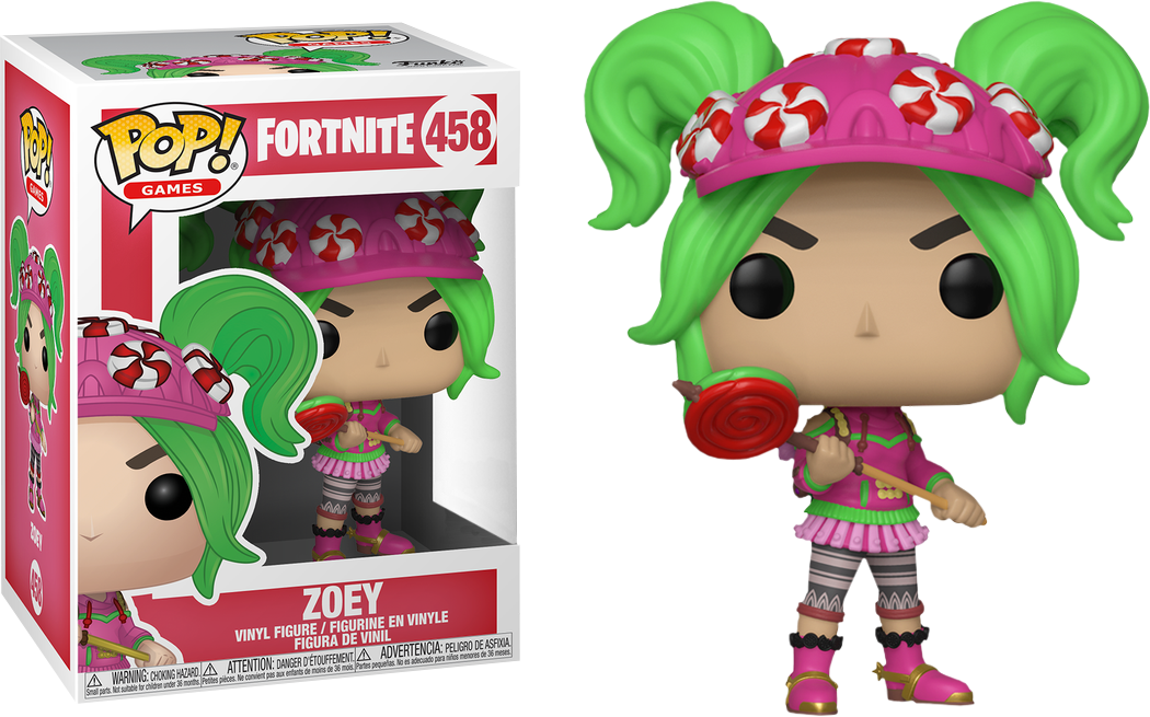 Fortnite clipart zoey. Pop vinyl figure funko