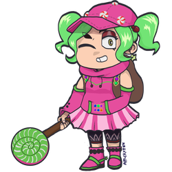 Fortnite clipart zoey. By bestialsorceress on deviantart