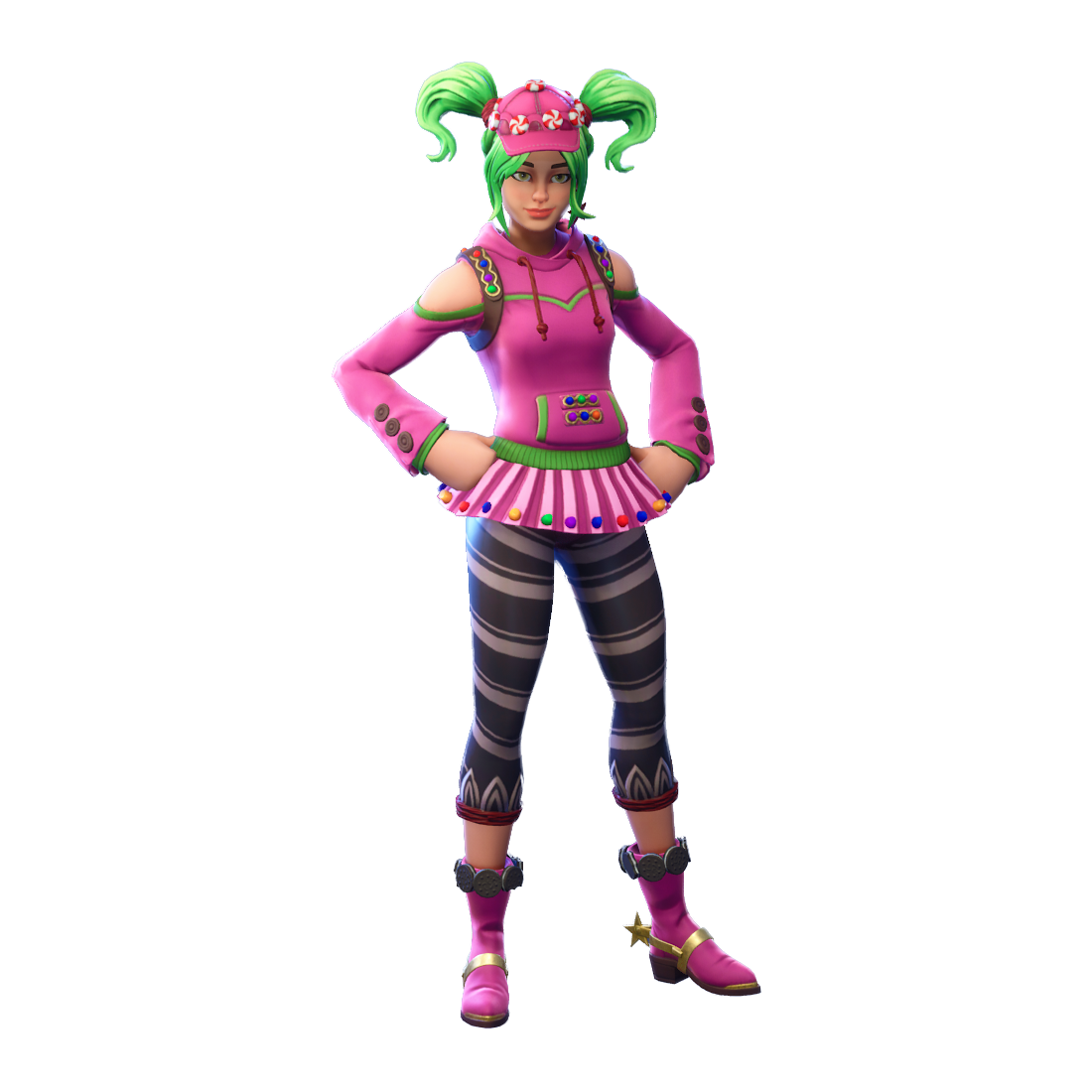 Fortnite clipart zoey. Png image purepng free