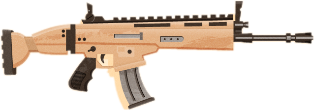 Fortnite gold scar png. Largest collection of free