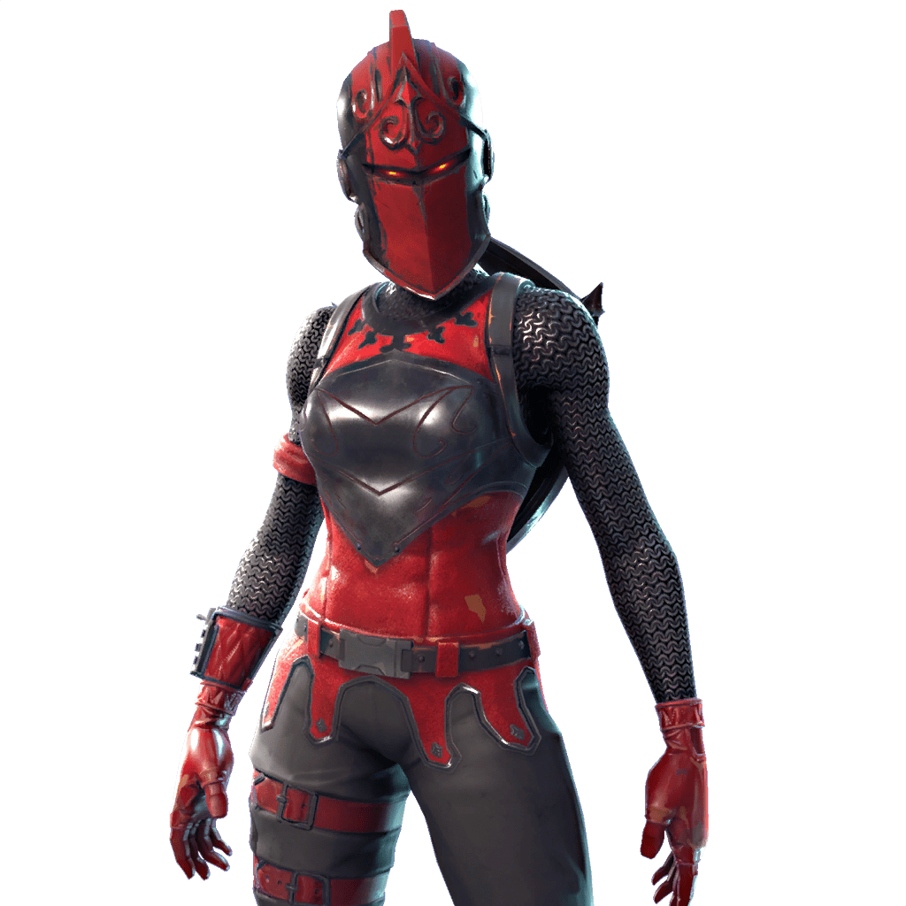 Fortnite knight png. Red outfits skins redknightimage
