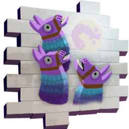 Fortnite llama png. Three llamas spray wiki