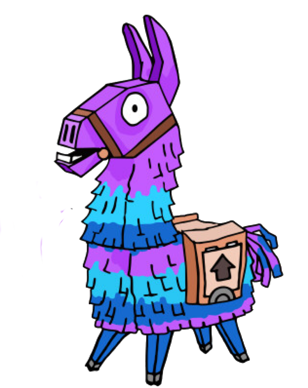 Fortnite llama png. Loot from lootllama fornit