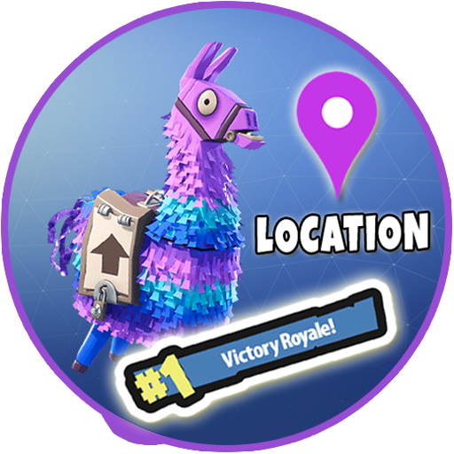 App insights rare location. Fortnite llama png logo banner black and white