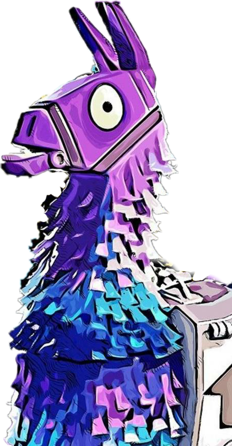 Fortnite llama png logo. Freetoedit sticker by julia