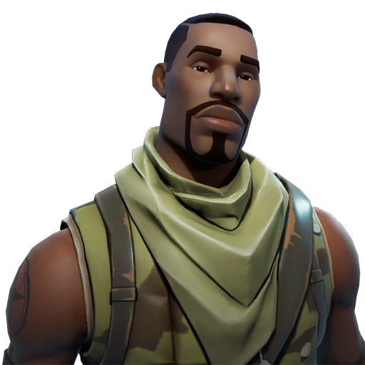 Fortnite no skin png. Commando image purepng free