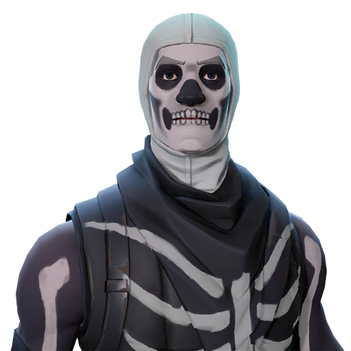 skull trooper clipart lady