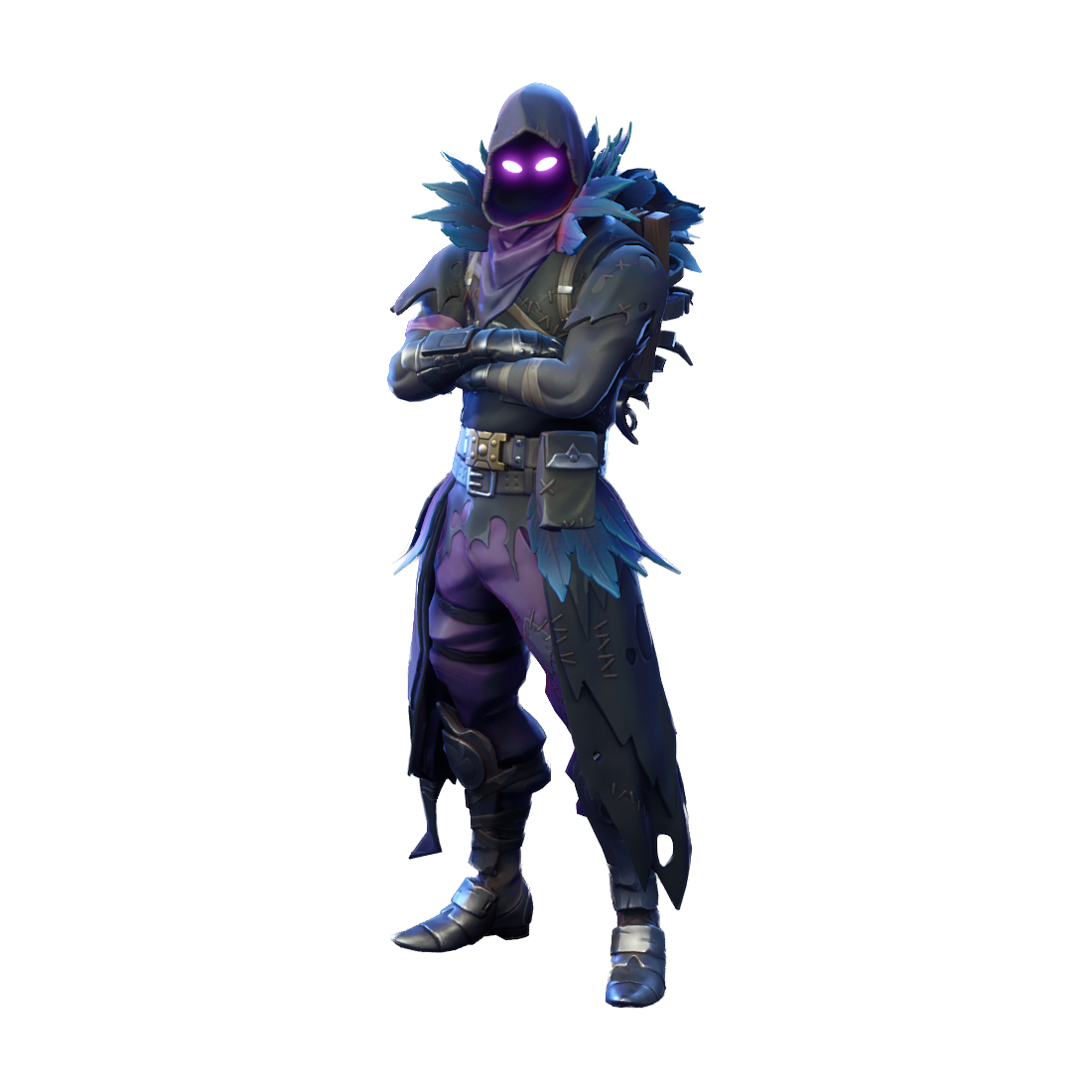 fortnite raven skin png