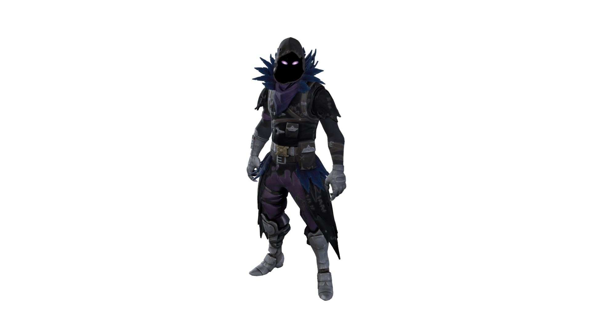 Raven skin png. Fortnite outfit info how