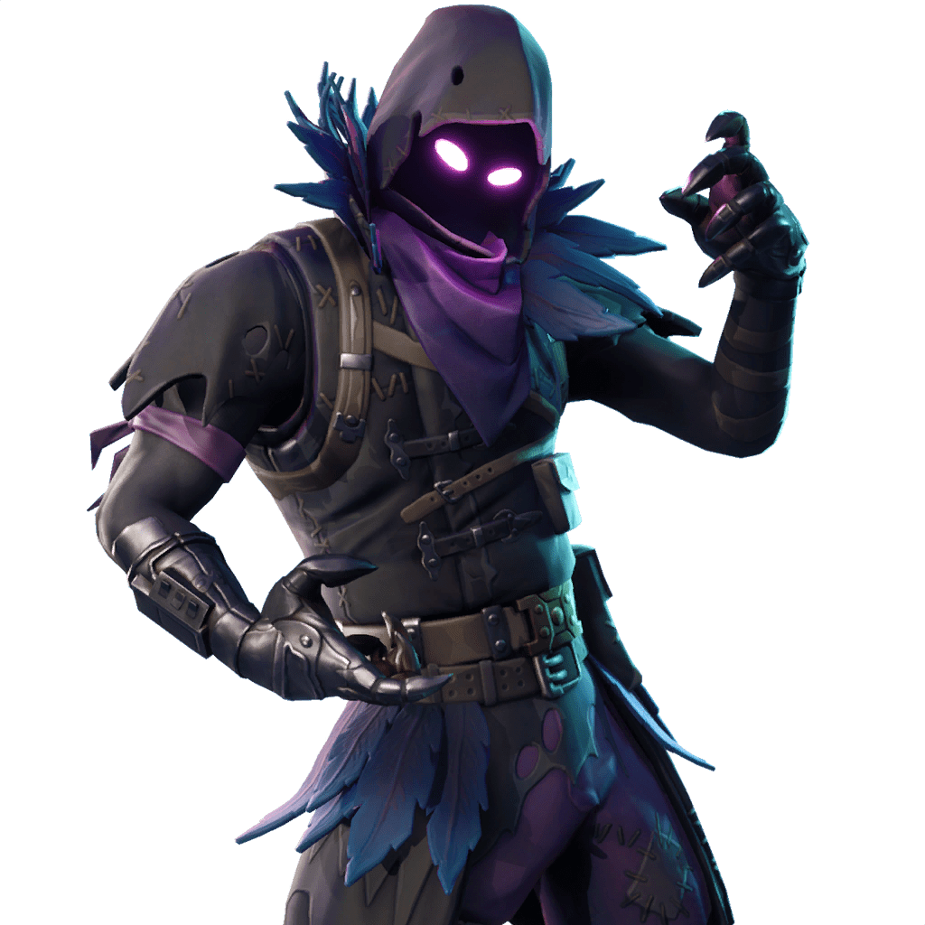 Outfits skins files. Fortnite raven png banner