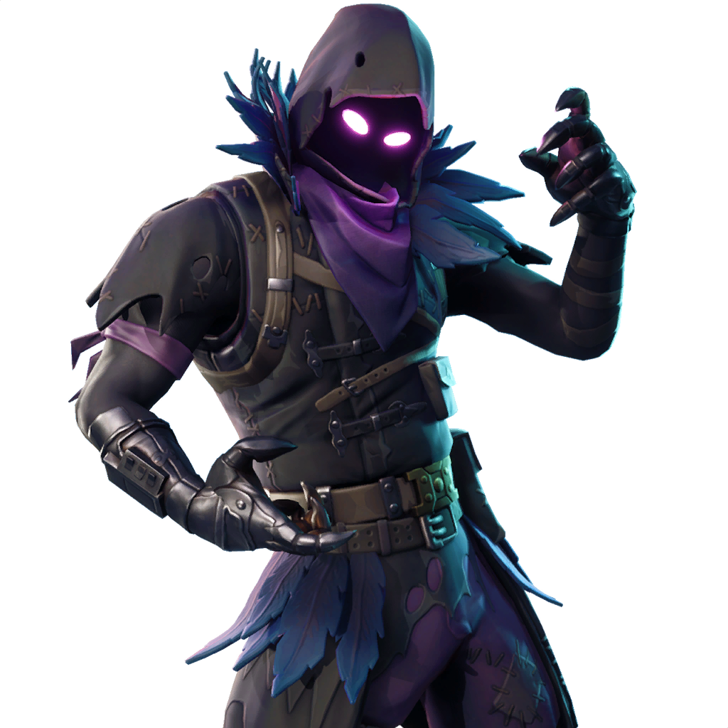 Fortnite raven png. What is in the