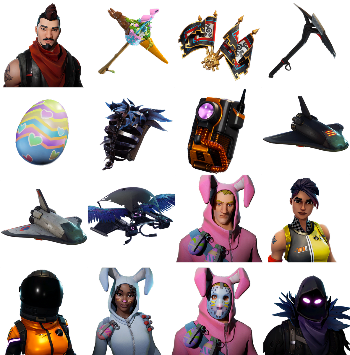 Fortnite raven skin png. New skins coming to