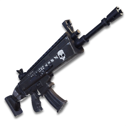 Fortnite scar png. Image icon weapons sk