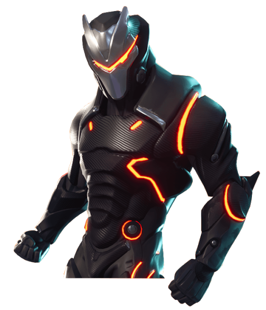 Fortnite season 4 png. Skin omega
