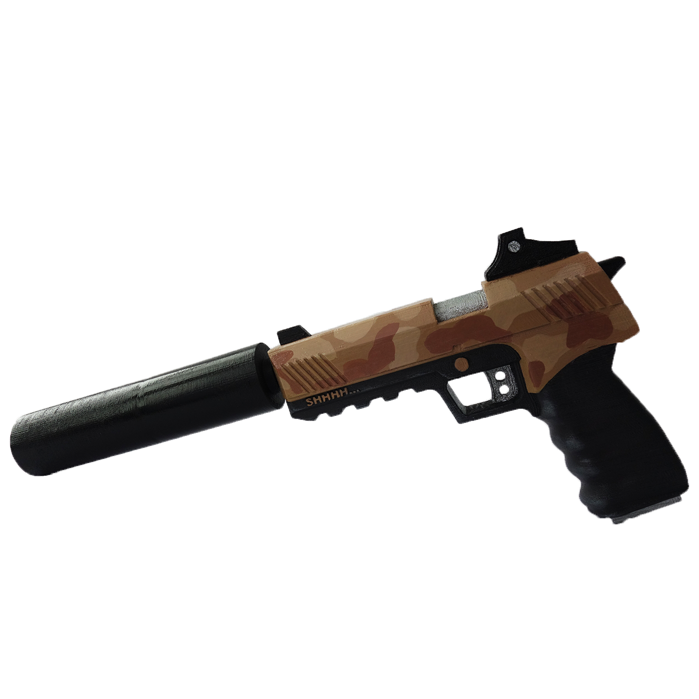 Fortnite gun png. Suppressed pistol replica whisper