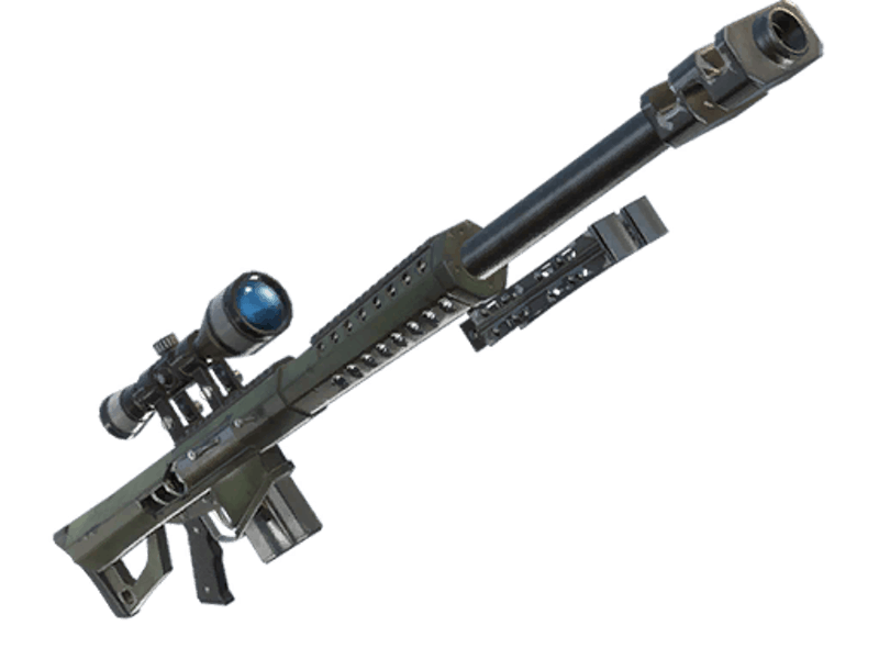 Fortnite sniper rifle png. Leaks new heavy will