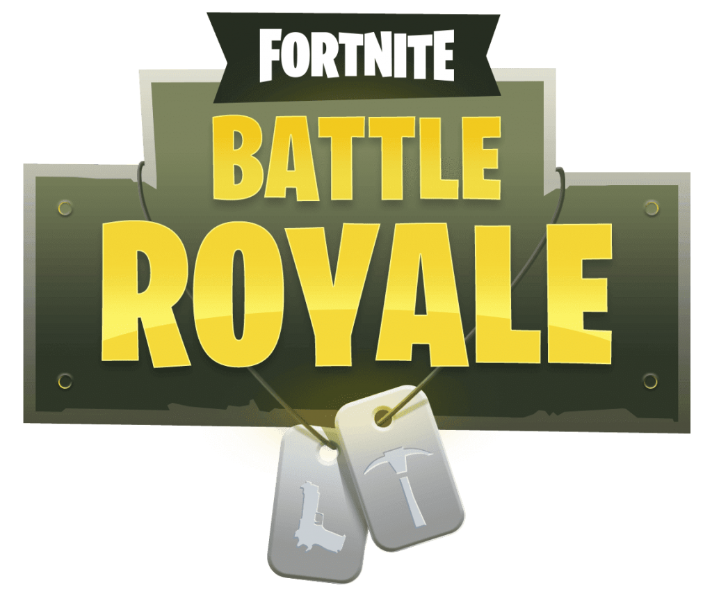Fortnite vector. Battle royale logo png