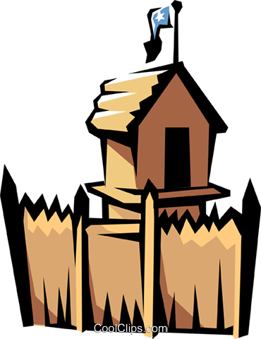 Fortress drawing clip art. Fort encode clipart to
