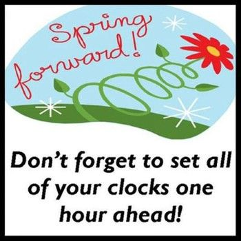 Forward clipart daylight savings time spring. Best images on