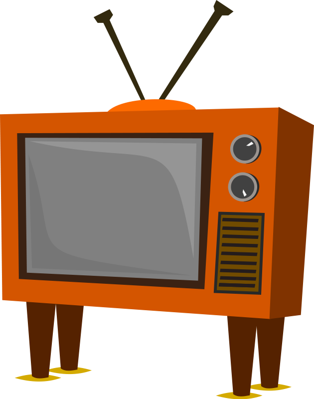 Vector television tv show. Free fire cliparts download