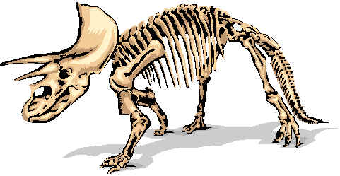 Fossil clipart dinosaur bone. Drawing at getdrawings com