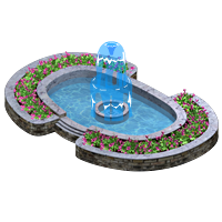 Fountain clipart top view. Animated water gallery yopriceville