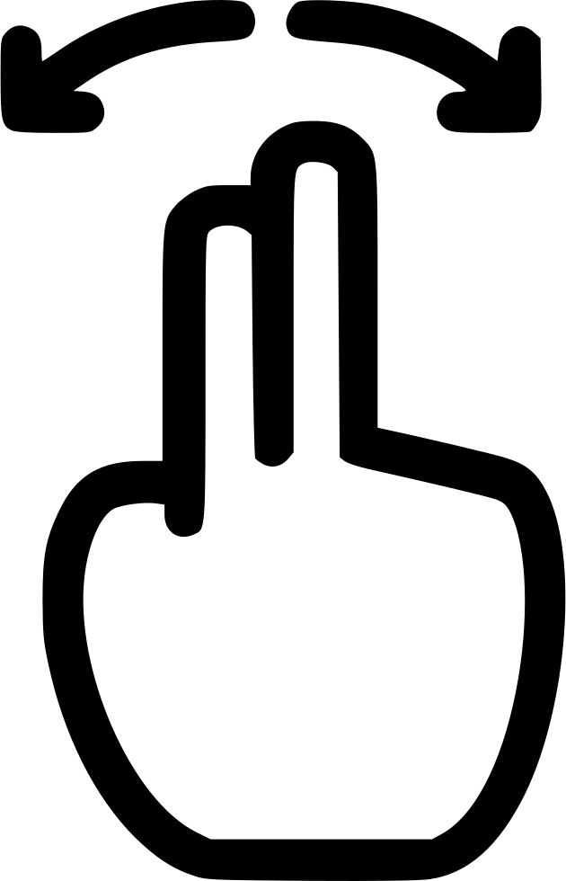 Four clip pinch. Out svg png icon