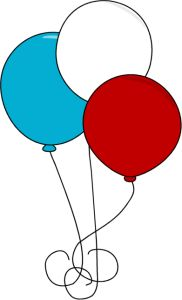 Fourth of clipart balloons. Best balloon clip