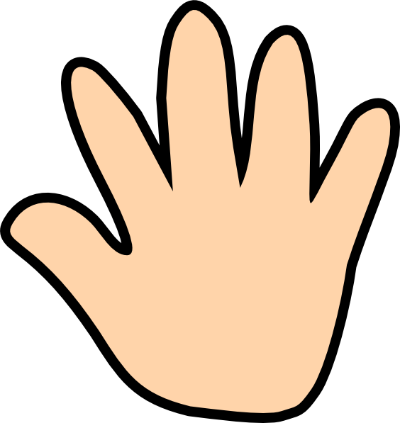 Print clipart right hand. Free printable hands download