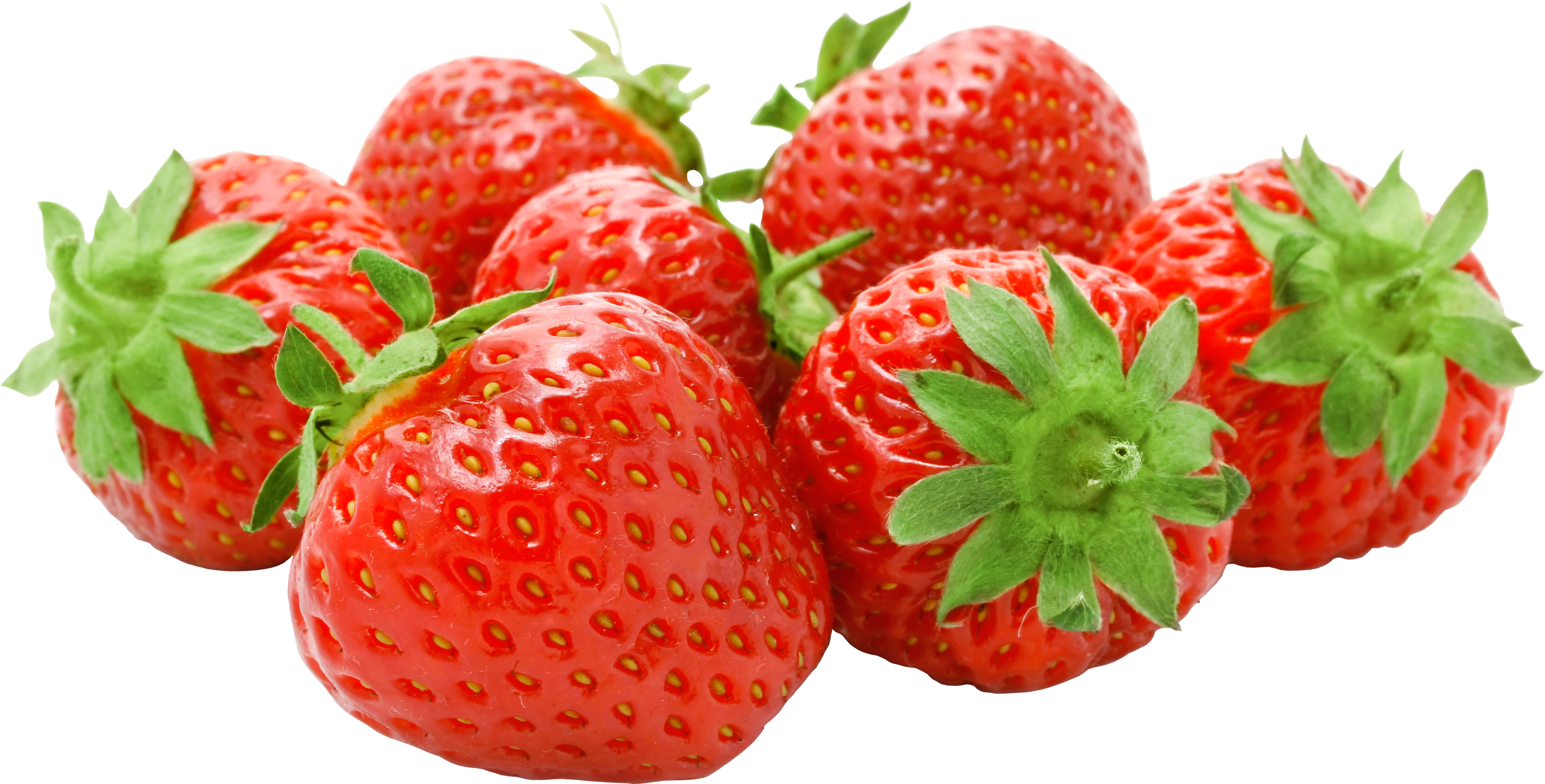 Strawberries png. Strawberry four isolated stock
