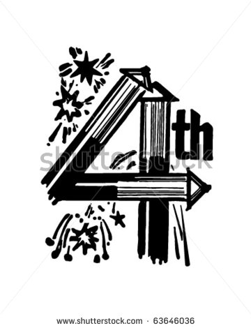 Fourth of clipart.
