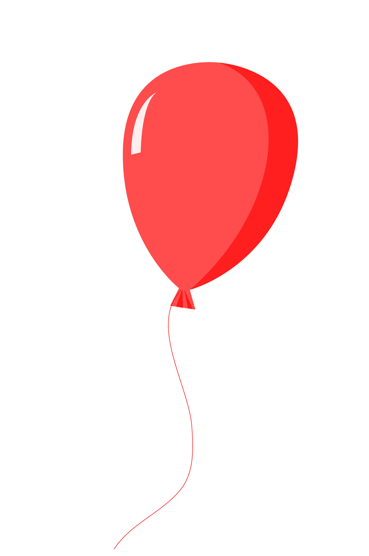 Fourth of clipart balloons. Red balloon free stock