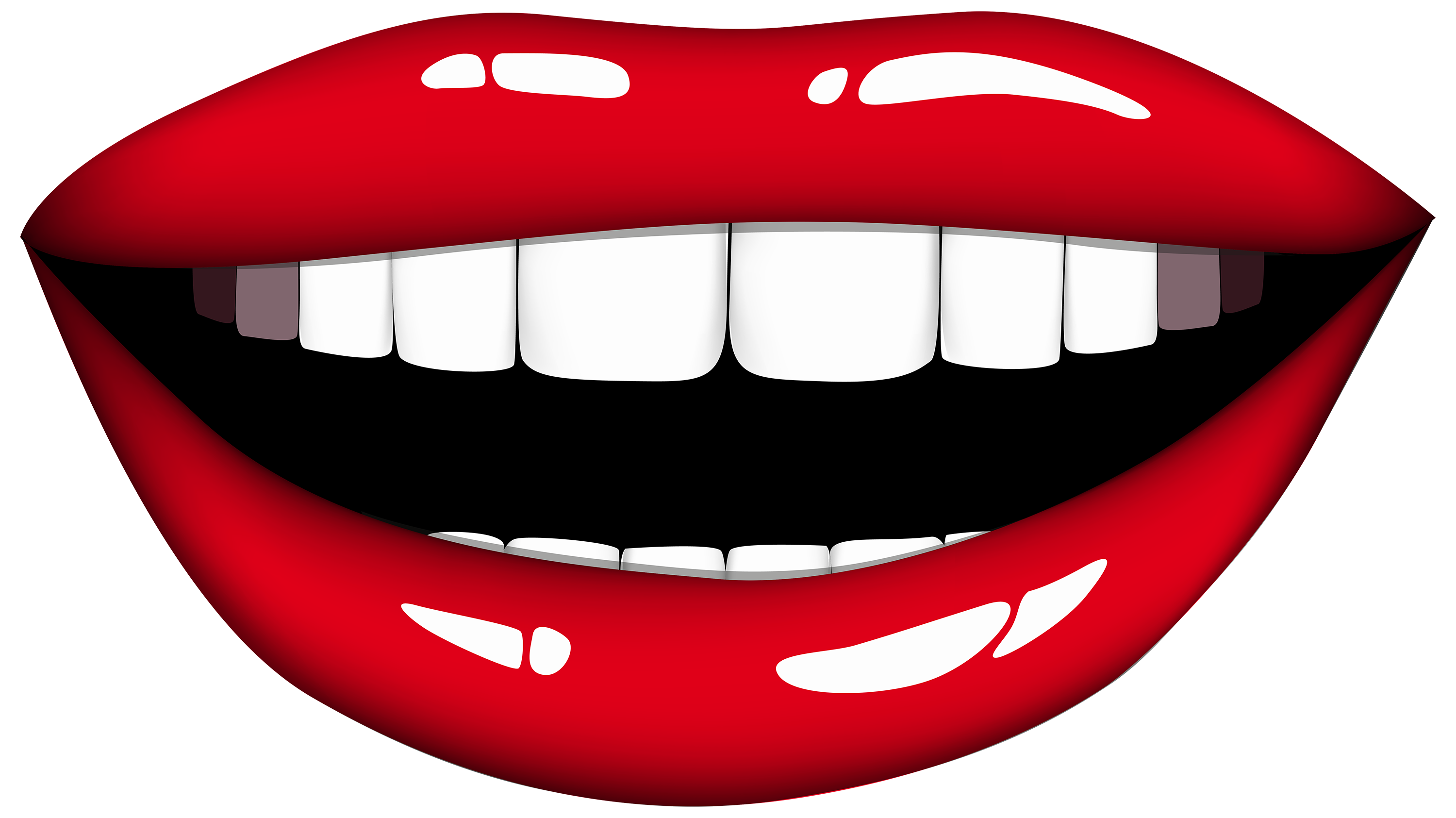 Smiling mouth png best. Lips clipart color jpg freeuse stock