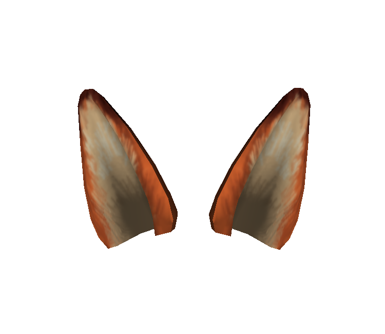 Fox ears png. Pc computer roblox zootopia