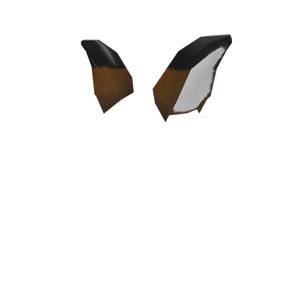 Fox ears png. Anthro hat roblox