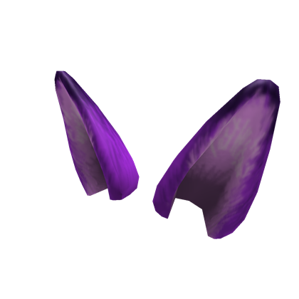 Purple roblox. Fox ears png svg download