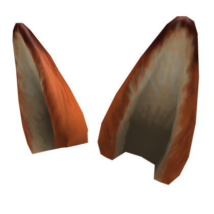 Fox ears png. Image zootopia faux roblox