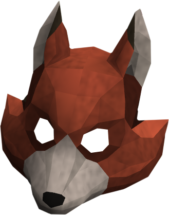 Fox mask png. Image detail runescape wiki