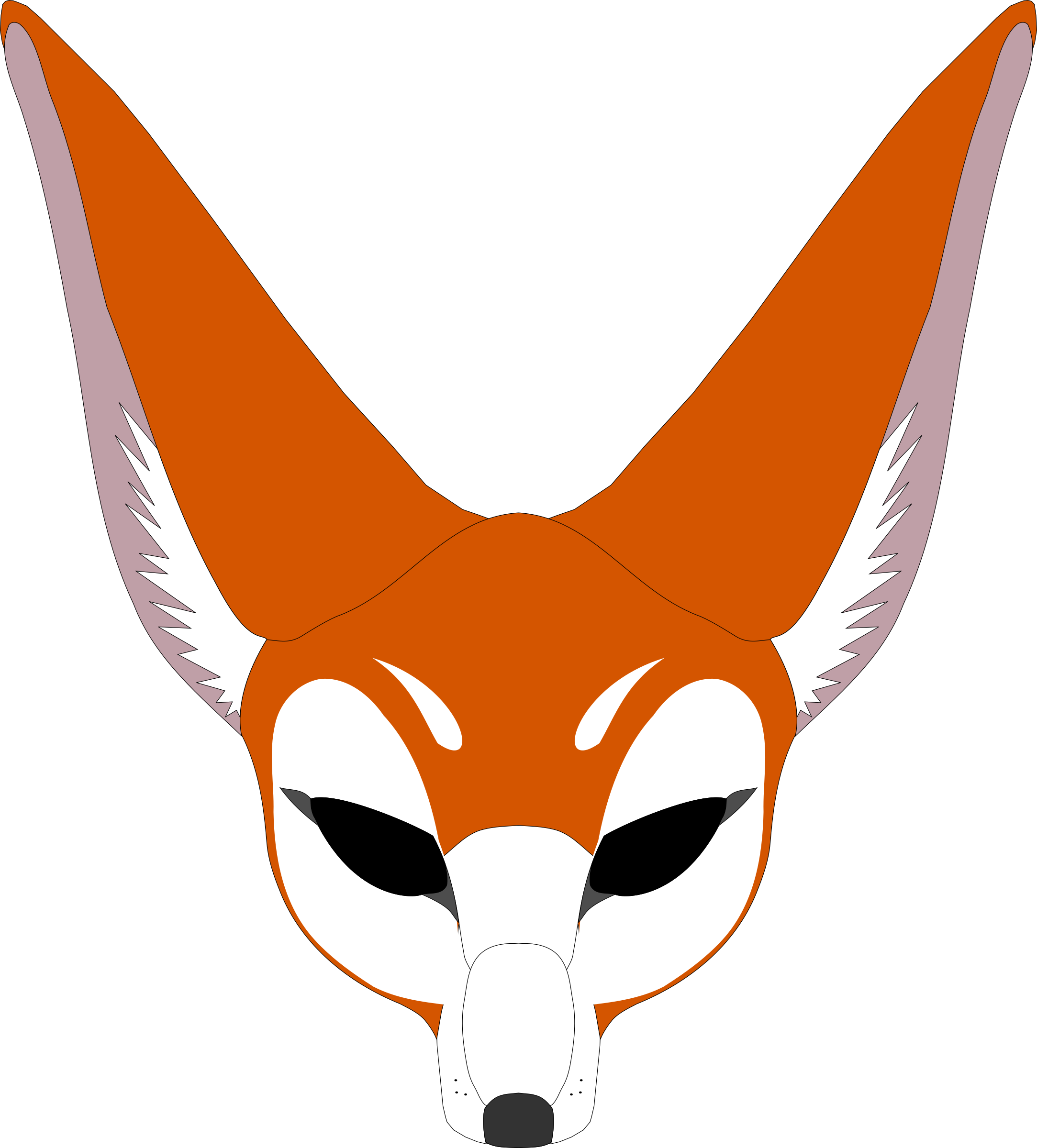 Fox mask png. Icons free and downloads