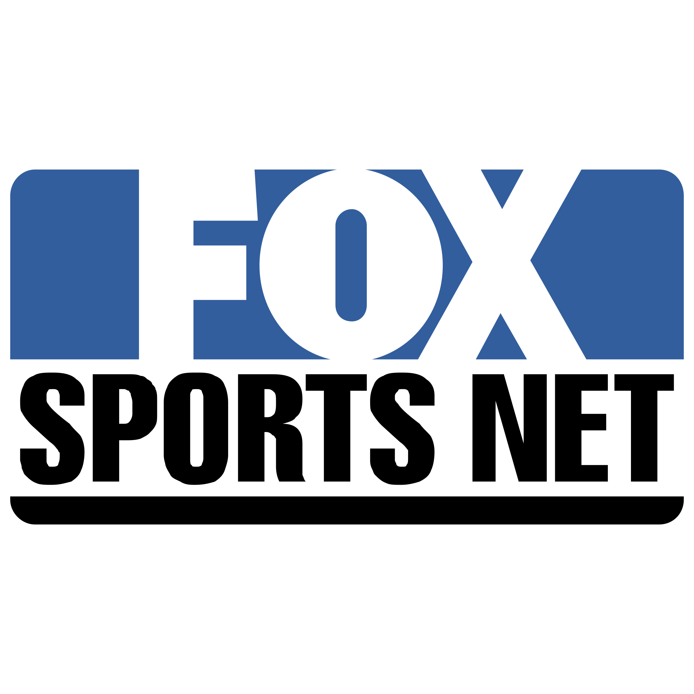 Net transparent svg vector. Fox sports 1 logo png svg library stock