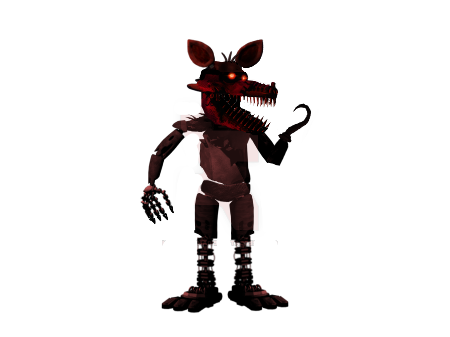 Foxy transparent clipart. Nightmare png all