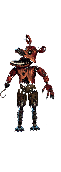 Transparent fnaf thank you. Nightmare foxy png images