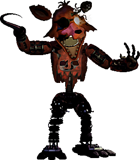 Foxy transparent. Withered x by loleegee