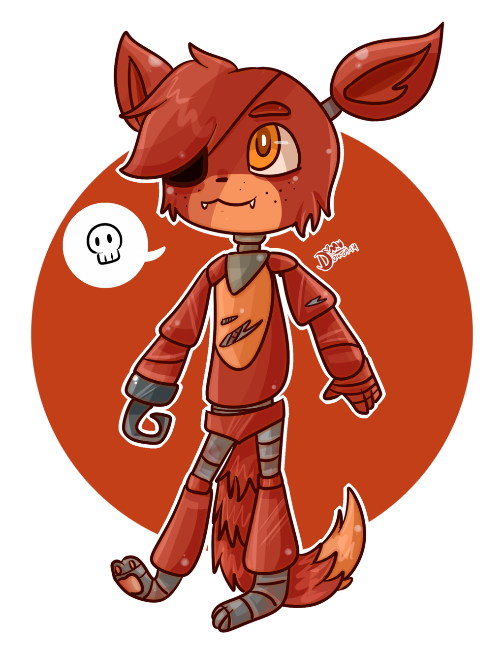 Foxy transparent anime. Cute fox know your