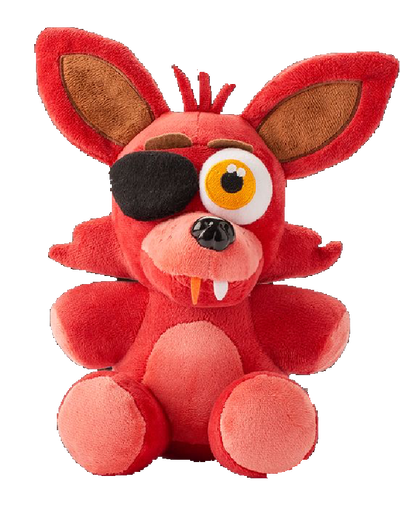 Foxy transparent plush. Png by mangletheepicfox on