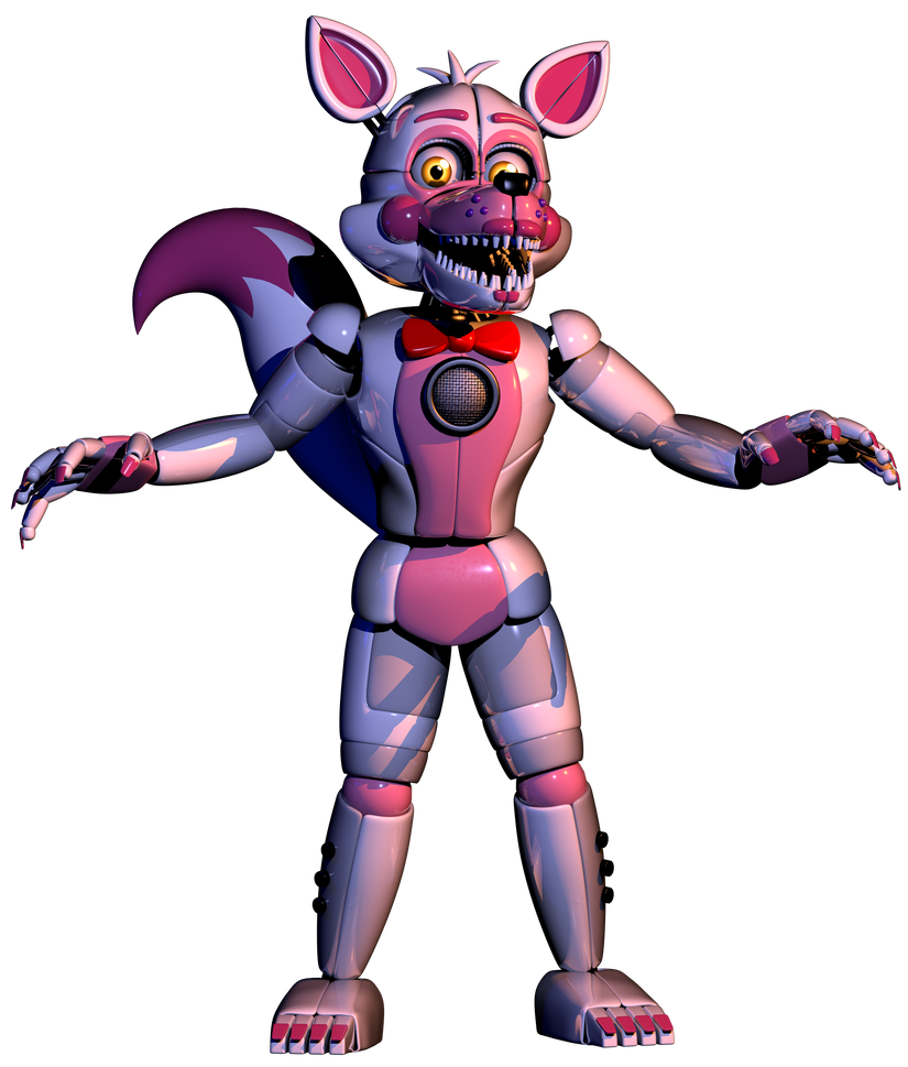 Foxy transparent epic. Funtime v by the