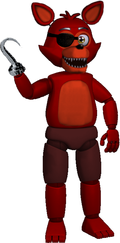 Foxy transparent fixed. New by pkthunderbolt on